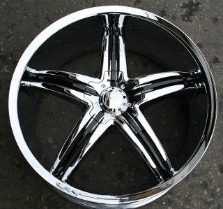 Viscera 770 22 Chrome Rims Wheels Mercedes GL450 GL550