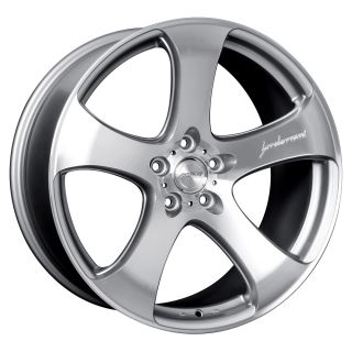 19 MRR HR2 Style Silver Wheels Rims Fit VW Passat B5 B5 5 Phaeton
