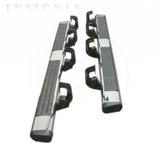 OE Chrome 6 Side Steps 2007 2012 Cadillac Escalade and GMC Yukonxl