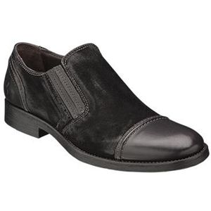 Bacco Bucci Mens Gentile Black Shoes   2250 46 001
