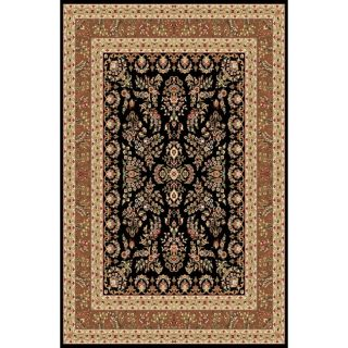 Safavieh Lyndhurst Collection Black/ Tan Rug (9 X 12)
