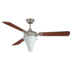 Ellington Fans ELF E URA52BNK3CWR Urban Aire 52 Ceiling Fan w/Light Kit light k