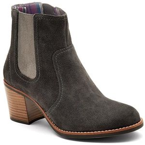 Sperry Top Sider Womens Marlow Grey Suede Boots   9599515