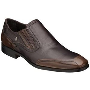 Bacco Bucci Mens Girardi Brown Shoes   2253 35 200