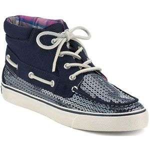 Sperry Top Sider Womens Betty Chukka Boot Navy Jersey Boots   9511817