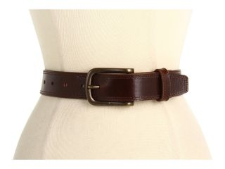 Johnston & Murphy Casual Double Buckle Mens Belts (Brown)