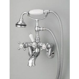 Cheviot 5100 AB Universal Bathtub Filler For Tub Or Wall Mount Application