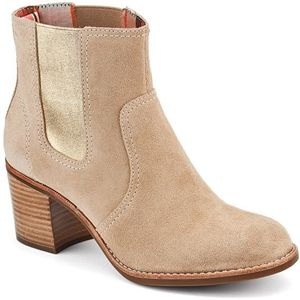 Sperry Top Sider Womens Marlow Sand Suede Boots   9599507