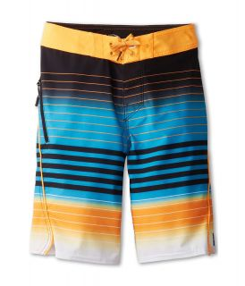 Rip Curl Kids Mirage Aggrotrippin Boardshort Boys Swimwear (Orange)