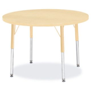 Jonti Craft Berries Round Activity Table (36 x 36) 6488JC251 Size 31 H x