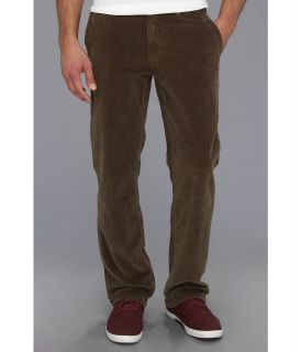 Quiksilver Waterman Rocky Point 2 Corduroy Chino Pant Mens Casual Pants (Brown)