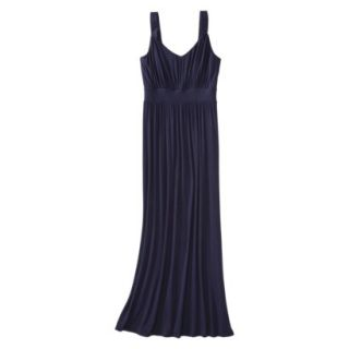 Merona Petites Sleeveless Maxi Dress   Navy XSP