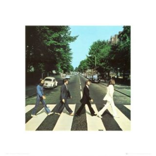 Art   The Beatles Abbey Road Mounted Print