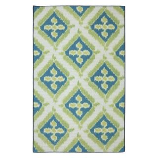 Mohawk Home Summer Splash Indoor/Outdoor Rug Multicolor   11740 495 M60096, 5 x