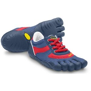 Vibram FiveFingers Kids Speed Youth Navy Red Shoes   13Y3302