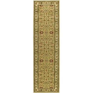 Lyndhurst Collection Majestic Beige/ Ivory Runner (23 X 6)