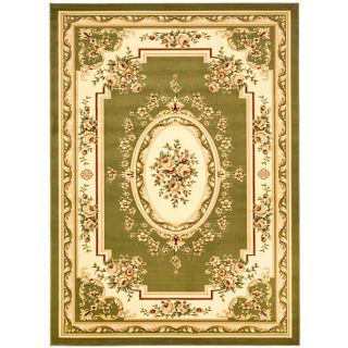 Lyndhurst Collection Sage/ivory Area Rug (8 X 11)