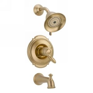 Delta Faucet T17T455 CZ Victorian Single Handle Tub & Shower Faucet Trim