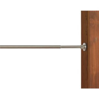 Versailles Indoor/Outdoor Stainless Steel Duo Tension Rod   Brushed Nickel
