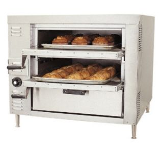 Bakers Pride Pizza / Bake Countertop Oven, Single Compartment, Double Deck, LP