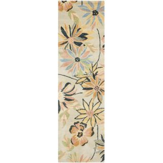 Safavieh Blossom Light Blue / Multi Rug BLM789A  Rug Size Runner 23 x 8