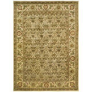 Safavieh Antiquities Garden Panel Gold Rug AT51C