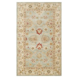 Safavieh Antiquity Grey Blue / Beige Rug AT822A  Rug Size 11 x 16