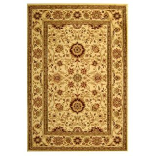 Lyndhurst Collection Majestic Ivory/ Ivory Rug (4 X 6)