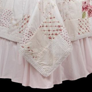 Simply Shabby Chic Pink Bedskirt   Full