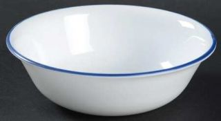 Corning Breathtaking Blue Beads Soup/Cereal Bowl, Fine China Dinnerware   Living