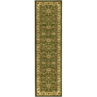 Lyndhurst Collection Majestic Sage/ Ivory Runner (23 X 12)