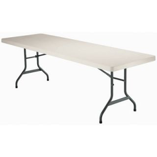 Lifetime 8 Commercial Grade Table in Almond 2984 Quantity 1