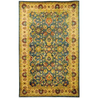 Safavieh Antiquities Blue/Beige Rug AT15A Rug Size 76 x 96