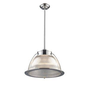 ELK Lighting ELK 60004 1 Halophane 1 Light Pendant