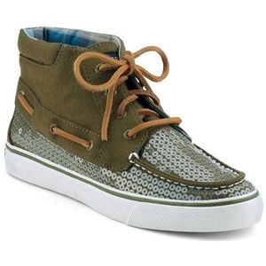 Sperry Top Sider Womens Betty Chukka Boot Olive Jersey Boots   9511825
