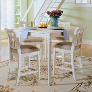American Drew Camden White Counter Height Stool   920 690