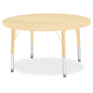 Jonti Craft Berries Round Activity Table (36 x 36) 6488JC251 Size 15 H x