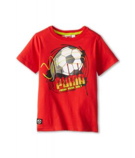Puma Kids Vivid Tee Boys Short Sleeve Pullover (Multi)