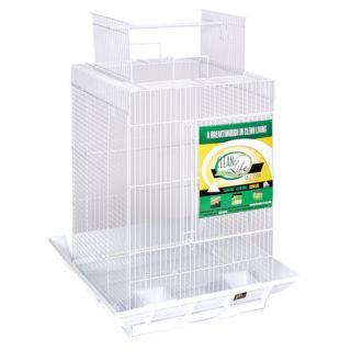 Prevue Hendryx Clean Life PlayTop Bird Cage SP851 Color White