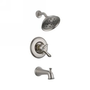 Delta Faucet T17494 SS Linden Delta Linden Monitor(R) 17 Series Tub And Shower