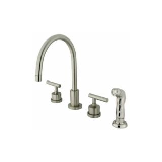 Elements of Design ES8728CML Louisville Double Handle Widespread Kitchen Faucet