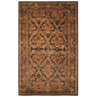 Safavieh Antiquities William Morris Wine/Gold Rug AT54A Rug Size 5 x 8