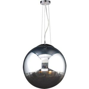 PLC Lighting PLC 14857 PC Mercury 2 Light Pendant Mercury Collection
