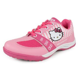 Hello Kitty Girl`s Shoes Pink and Pink 1 Pink