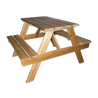 Kids Table and Chair Set Ore International Indoor Outdoor Picnic Table