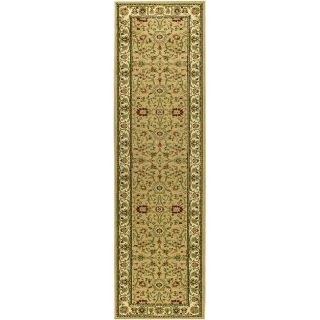 Lyndhurst Collection Majestic Beige/ Ivory Runner (23 X 14)