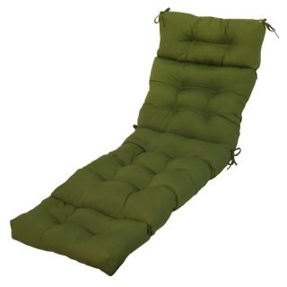 Greendale Home Fashions 72 inch Outdoor Chaise Lounger Cushion   OC4804