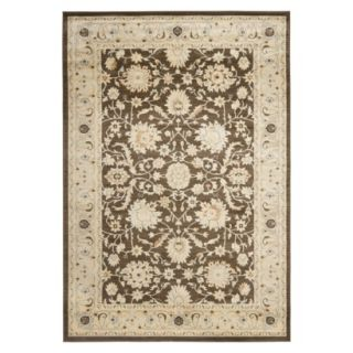 Safavieh Florenteen Area Rug   Brown/Ivory (53x76)