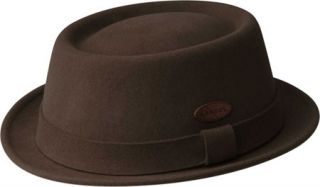 Kangol Lite Felt Pork Pie   Tobacco Hats