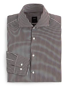 BOSS HUGO BOSS Christo Striped Dress Shirt